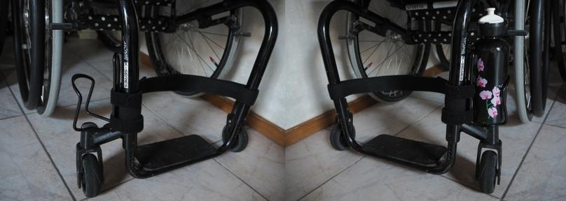 cadeautjes bidonhouder rolstoel