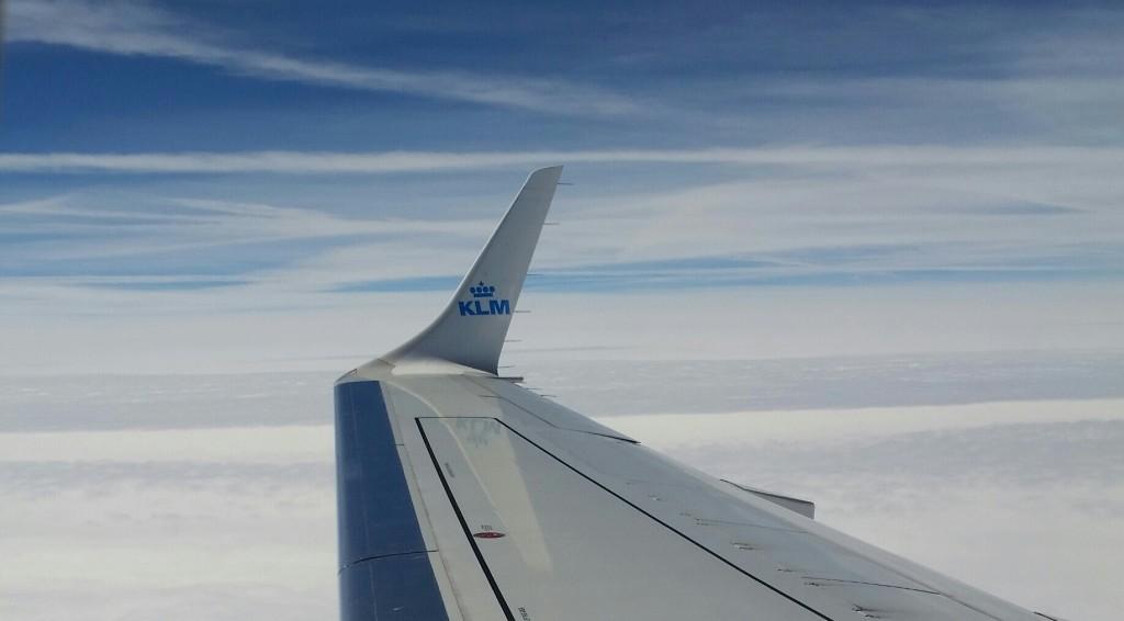 vleugel vliegtuig KLM