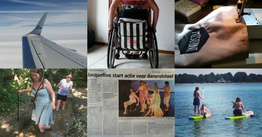 zomerblogs uitstapjes rolstoel