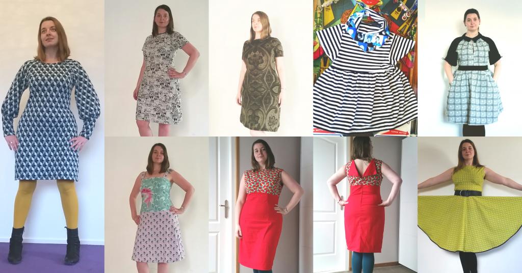 zelfgemaakte jurkjes 2016