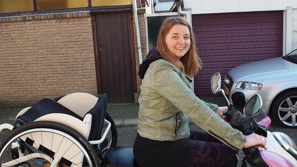rolstoeldrager rolstoel scooter